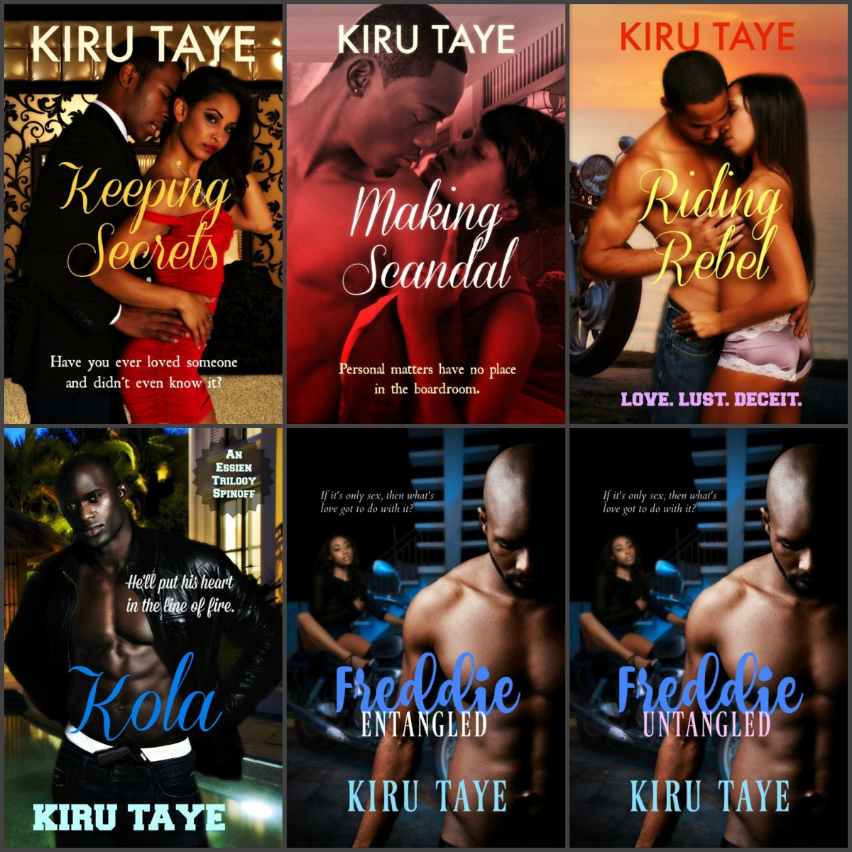 Secrets, Scandals, and Seduction under African skies #bookseries @kirutaye