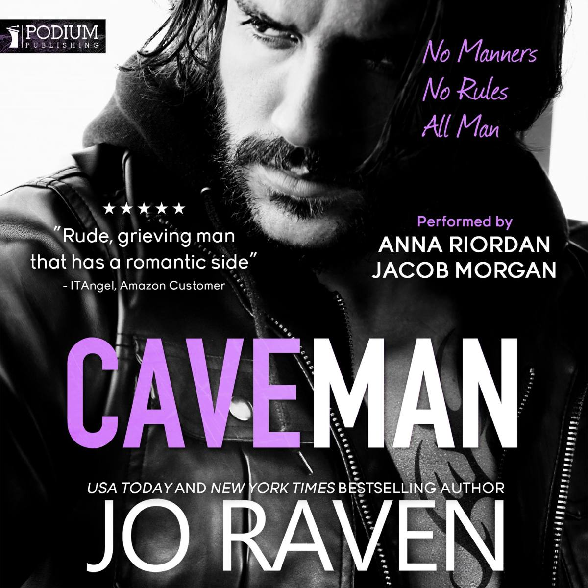 Caveman by @AuthorJoRaven is in #audiobook