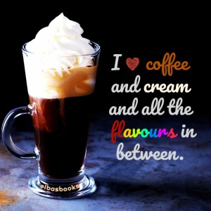 Hot viennese coffee with whipped cream on dark background
