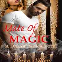 His touch awakens the monster inside her. Mate of Magic @SirenAllen #PNR #IRRomance