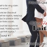 The runaway bride is back. Must Have Faith by Deborah Garland #Romance @deborah_garland
