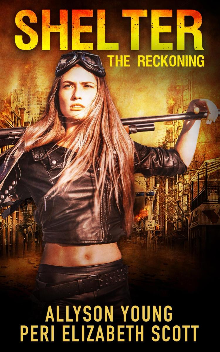 She hopes for the best but expects the worst. Shelter @allysonyoung45 #postapocalyptic #romance