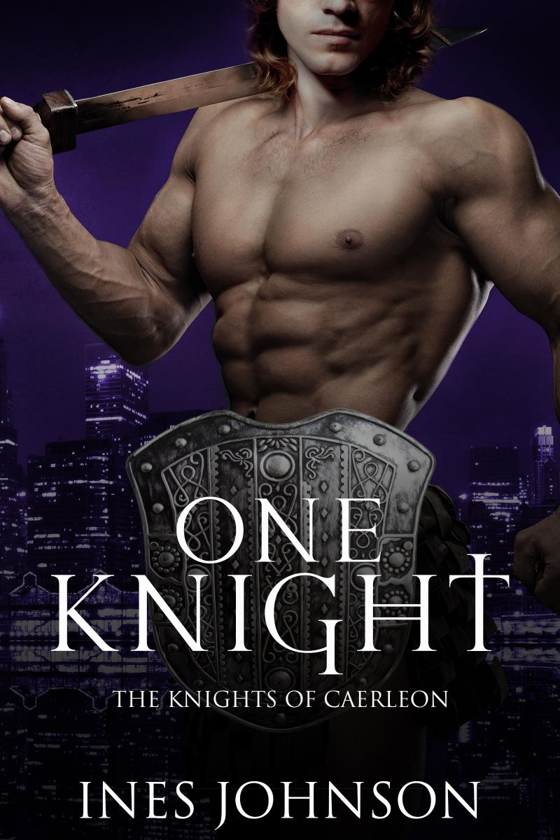 Sir Lancelot will make you swoon. One Knight by Ines Johnson @ineswrites #Fantasy #Romance