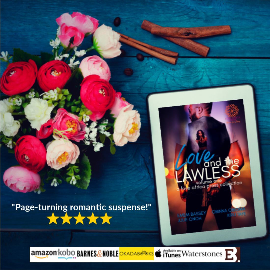 Love and the Lawless - flowers-5stars