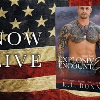 Their attraction is explosive |Explosive Encounter @author_kldonn #MilitaryRomance