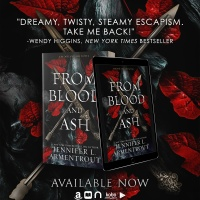 Adventure, angst and #vampires! FROM BLOOD AND ASH is here @JLArmentroutnews