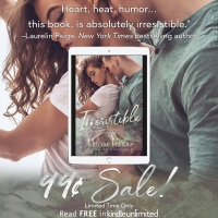 Irresistible by Melanie Harlow is only #99¢ for a limited time #romance